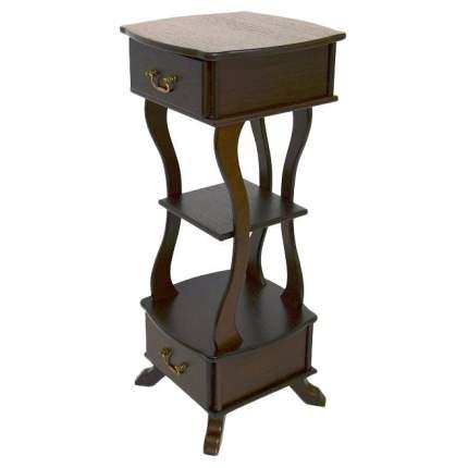 Консоль мебельная МЕБЕЛИК Берже 14 Темно-коричневый