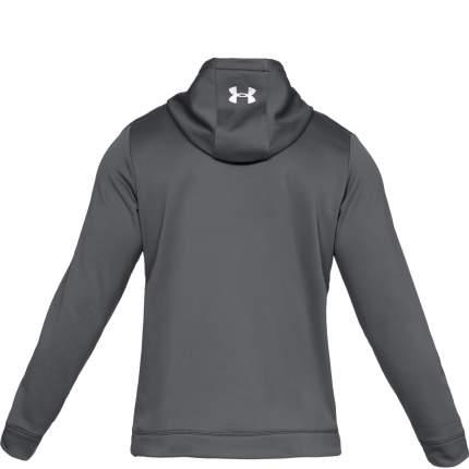 Толстовка Under Armour Hockey Jock Tag Armour Fleece Hooded, 040 серая, MD