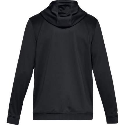 Толстовка Under Armour Fleece Full Zip Hooded, 001 черная, SM