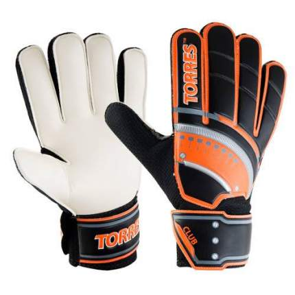 Вратарские перчатки Torres Club black/orange/white, 8
