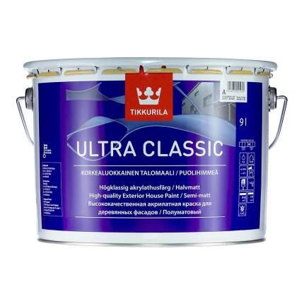 Краска полуматовая полиакрилатная Tikkurila Ultra Classic / Тиккурила Ультра Классик 2,7л.