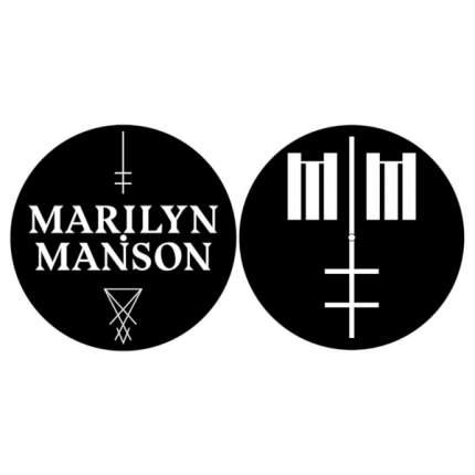 Слипмат Marilyn Manson - Logo/Cross