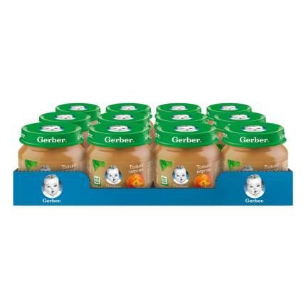 Пюре фруктовое Gerber Только персик с 4 мес. 80 г