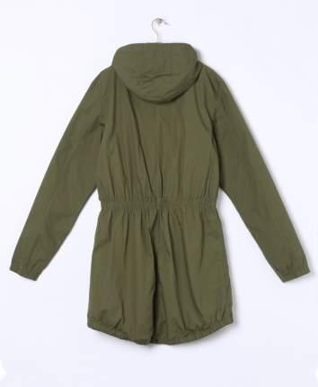 Куртка парка для девочек Y.F.K. RJ-111 хаки р.158