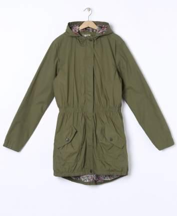Куртка парка для девочек Y.F.K. RJ-111 хаки р.170