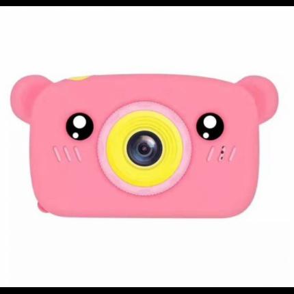 Детский цифровой фотоаппарат камера в форме медведя