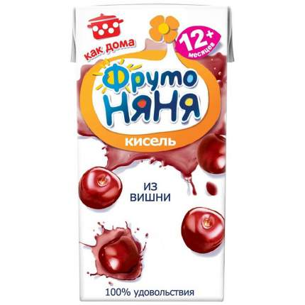 Кисель ФрутоНяня Вишня с 12 мес 200 мл