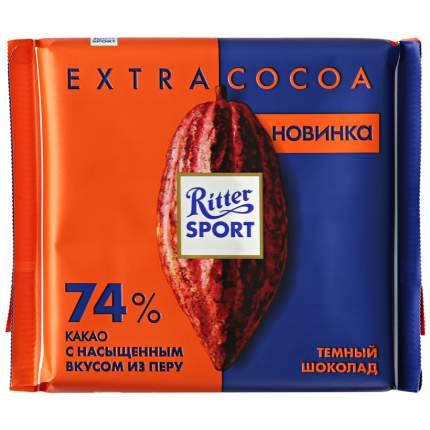 Шоколад Ritter Sport темный из Перу 74% какао 100 г