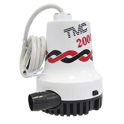 Помпа трюмная TMC 2000GPH 133л/мин 12В (03607_12)