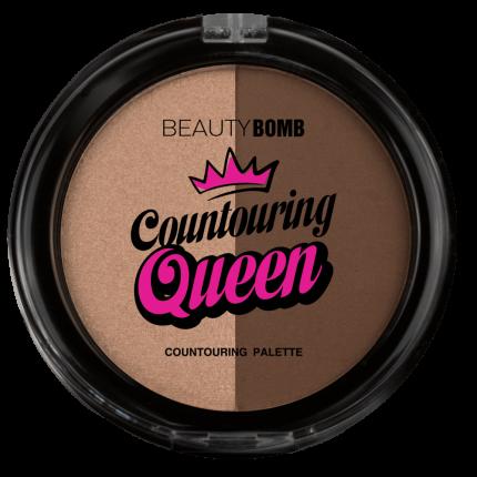 """Палетка для контуринга Beauty Bomb """"Countouring Queen"""", тон 02"""