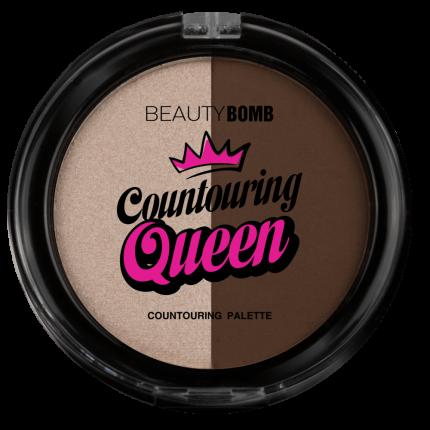 """Палетка для контуринга Beauty Bomb """"Countouring Queen"""", тон 01"""