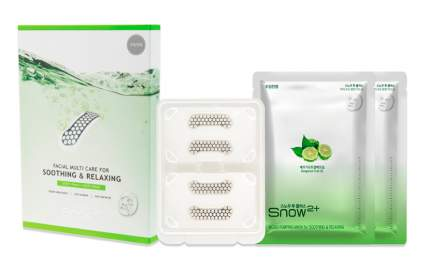 Набор Snow2+ Magnesium Micro Facial Multi Care for Soothing&Relaxing