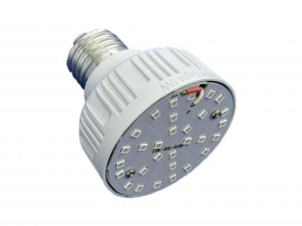 Фитолампа для растений URM-FITO-P27-60 Е27 30 LED 220 В 9 Вт