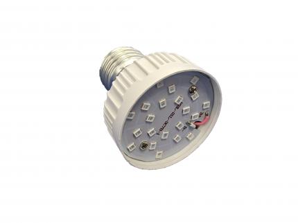 Фитолампа для растений URM-FITO-P27-60 Е27 21 LED 220 В 6 Вт