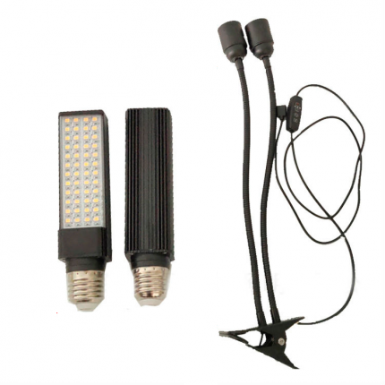 Фитолампа для растений URM-FITO-2L-USB-15 96 LED 5 В 50 Вт IP44