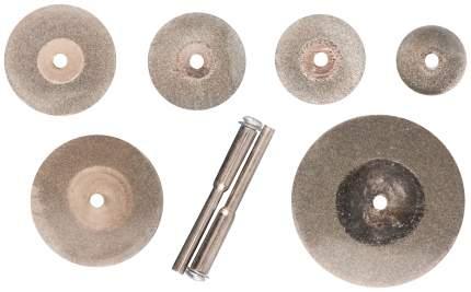 Круги отрезные мини с алмазным напылением 12 шт. FIT 36489