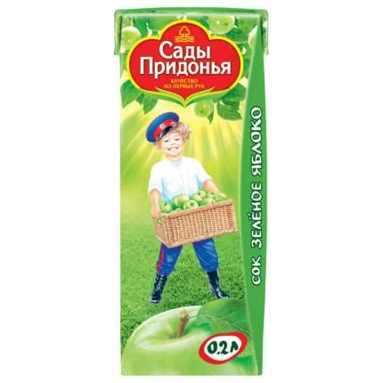Сок Сады Придонья Зеленое Яблоко с 4 мес 200 мл