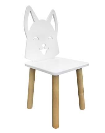 Детский стул Русэкомебель Лисенок белоснежный Animal