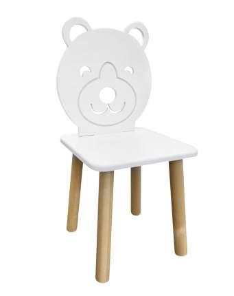Детский стул Русэкомебель Мишка белоснежный Animal