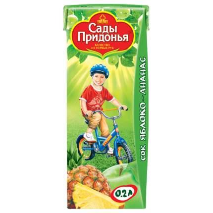 Сок Сады Придонья Яблоко и ананас с 6 мес 200 мл