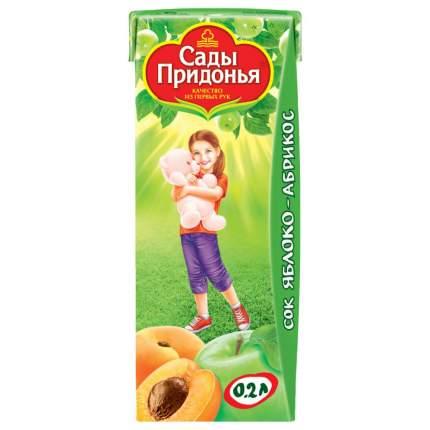 Сок Сады Придонья Яблоко и абрикос с мякотью с 5 мес 200 мл