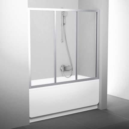 Шторка для ванны AVDP3-180 сатин+транспарент