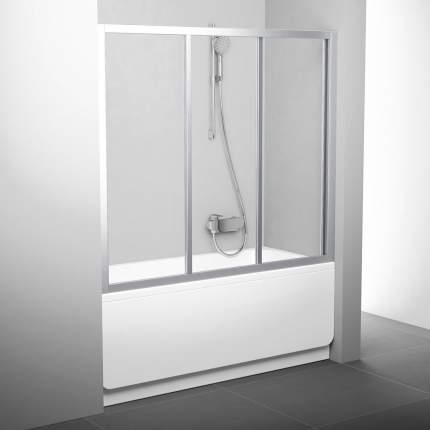 Шторка для ванны AVDP3-160 сатин+транспарент