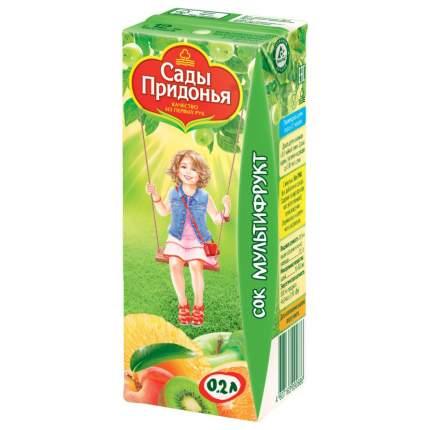 Сок Сады Придонья Мультифрукт с 12 мес 200 мл