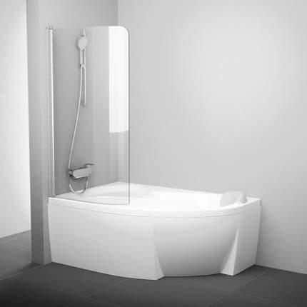 Шторка для ванны Ravak CVSK1 Rosa 160/170 L сатин+транспарент, 7QLS0U00Y1