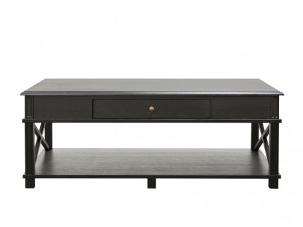 Кофейный столик Freigraf Black 0.45x1.2x0.7м