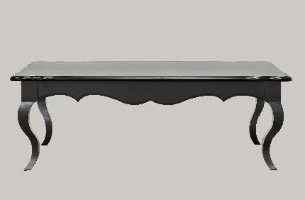 Кофейный столик Fleur de Luar Noir 0.45x1.3x0.7м