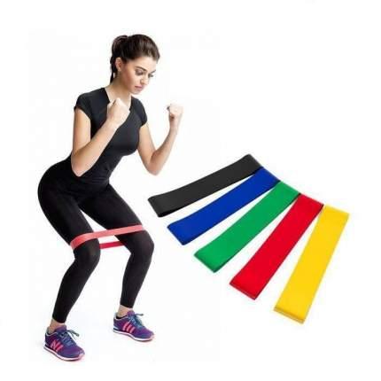 Фитнес резинки 5в1