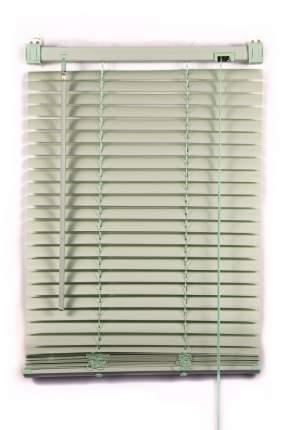 Жалюзи пластиковые ПраймДекор, 140Х150, оливковые