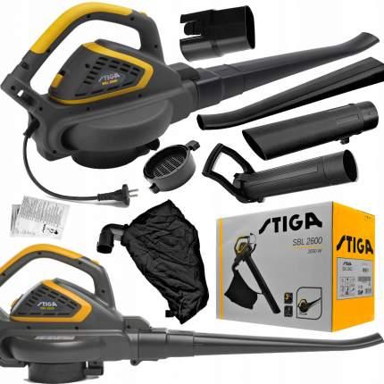 ALPINA Воздуходув-пылесос электрический STIGA 2600 серия BLACK