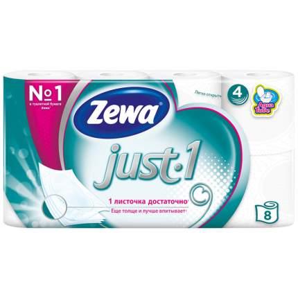 Туалетная бумага Zewa Just 1 4 слоя