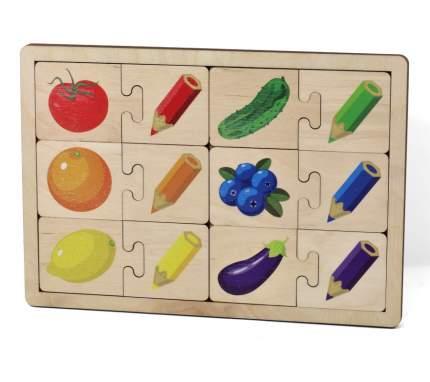 ДЕСЯТОЕ КОРОЛЕВСТВО Игра развивающая деревянная Цвета 736
