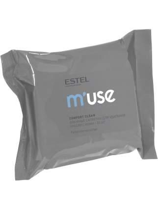 Влажные салфетки M'USE для снятия краски с кожи ESTEL PROFESSIONAL 20 шт