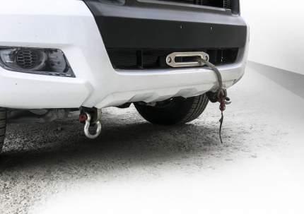 Кронштейн лебедки в штатный бампер Rival Ford Ranger IV 2015-н.в., с крепежем, 2L.1801.1