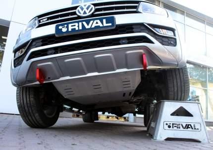Силовые буксировочные петли Rival Volkswagen Amarok I рестайлинг , с крепежем, 2D.5810.1