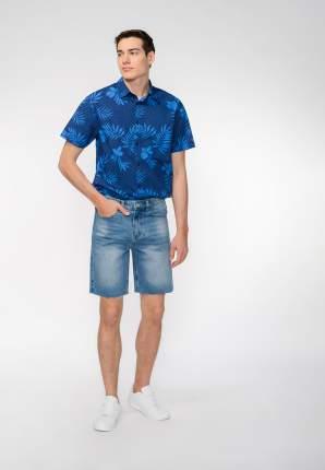 Джинсовые шорты мужские Modis M201D00406 синие 52 RU