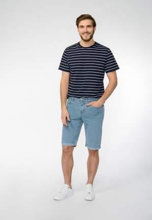 Джинсовые шорты мужские Modis M201D00400 голубые 50 RU