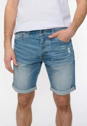 Джинсовые шорты мужские Modis M201D00396 голубые 52 RU