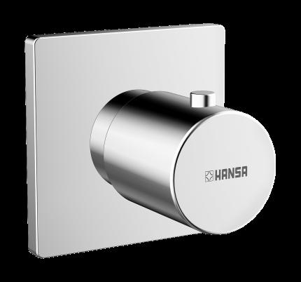 Вентиль запорный переключающий Hansa Designo хром  02289172