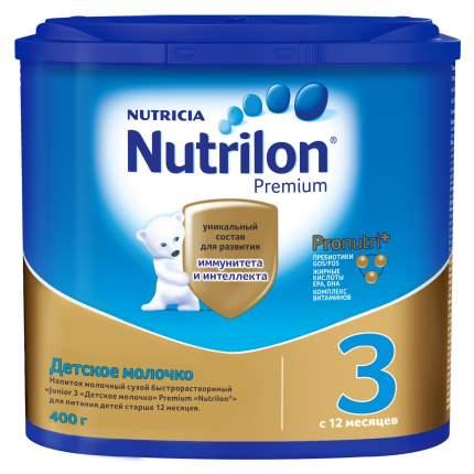 Молочная смесь Nutrilon Premium 3 от года 400 г