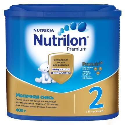 Молочная смесь Nutrilon Premium 2 от 6 до 12 мес. 400 г