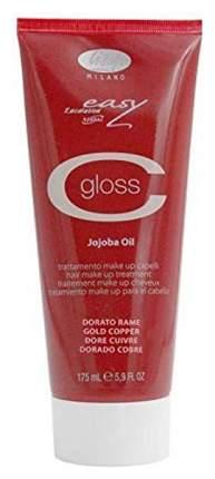 Бальзам тонирующий для волос Lisap Milano Escalation Easy C-Gloss 175 мл Золотисто-медный