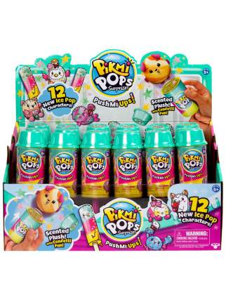 """Ароматизированная игрушка Pushmi Ups """"Льдинки"""" с конфетти"""