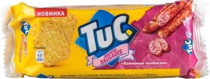 Крекер TuC копченые колбаски 100 г
