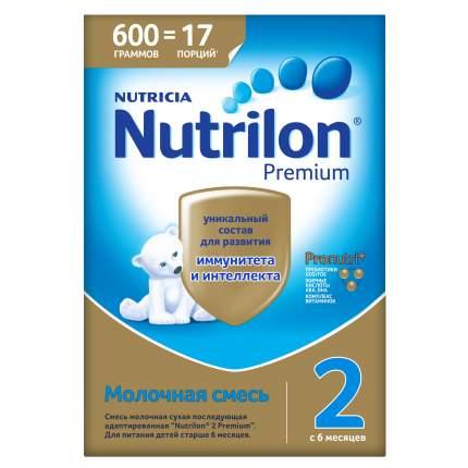 Молочная смесь Nutrilon Premium 2 от 6 до 12 мес. 600 г