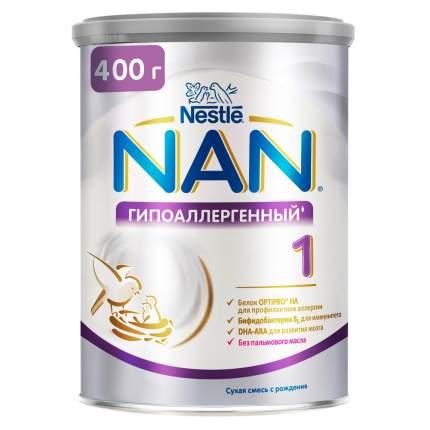 Молочная смесь NAN Optipro Гипоаллергенный 1 от 0 до 6 мес. 400 г